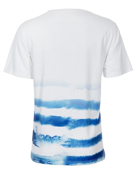 Local Bleach Stripe Tee - Men, T-shirts - Local-UAE