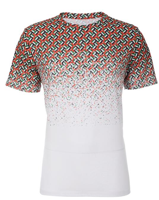 Local UAE Criss Cross Fade Tee - Men, T-shirts - Local-UAE