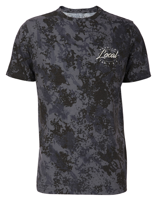 Local Dark Splatter Tee - Men, T-shirts - Local-UAE
